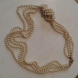 J. Crew Jewelry - J.crew pearl necklace